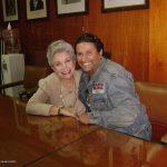 """Los K! con la excelente y primera actriz Evangelina Elizondo (q.e.p.d.), quien prestara su voz a la """"Cenicienta"""" de Disney. Aquí estamos en la ANDA cuando ella estaba en la presidencia y tratabamos temas importantes con los actores de doblaje."""