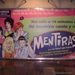 """Horacio Sandoval realizó las ilustraciones de los actores que participaban en la obra """"Mentiras"""" tratando de dar el look burdo de caricatura, tipo Roy lichtenstein."""