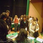 Nuestra décima participación, ahora en la Universidad Intercontinental UIC., en Abril del 2013. Como de costumbre, terminando la conferencia, los alumnos nos abordaron para seguir con sus preguntas y ver más de cerca nuestros portafolios.