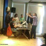 Nuestra onceava participación, ahora en La universidad Motolinía del Pedregal, en Abril del 2013. Como de costumbre, terminando la conferencia, los alumnos nos abordaron para seguir con sus preguntas y ver más de cerca nuestros portafolios.