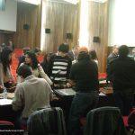 Nuestra novena participación, ahora en la Universidad Anáhuac del sur, en Abril del 2013. Como de costumbre, terminando la conferencia, los alumnos nos abordaron para seguir con sus preguntas y ver más de cerca nuestros portafolios.