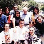 Aquí los K! en los Estudios de Hanna-Barbera en Hollywood, precisamente con uno de nuestros ídolos Bill Hanna (q.e.p.d.), a Óscar González Loyo se le cumplió un deseo desde su infancia.