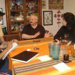 Después de tres años de no verlo, Jonathan Reed contactado extraterrestre, vino al nuevo Estudio toda una tarde para platicar y cenar con nosotros, nos la pasamos increíble.