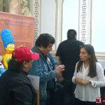 """El Sábado 27 de Febrero del 2016, Óscar González Loyo y Horacio Sandoval, fueron invitados a la Feria Internacional del Libro en el Palacio de Minería, por medio de la Editorial Penguin Random House, para dar una conferencia sobre su lanzamiento editorial """"Los Simpson La historia familiar, un Homenaje a la familia favorita de la Televisión""""."""