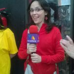 Esta reportera de TV Azteca es balín.