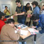 """Al terminar las firmas y bocetos, la propia Doctora María Cristina Rosas González, nos autografió nuestros libros """"Los Simpson: Sátira, cultura popular y poder suave""""."""