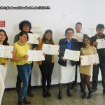El equipo de trabajo de la Doctora María Cristina Rosas González, muy amables todos.