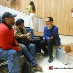Aquí platicando con Álvaro Cueva, excelente amigo de ¡Ka-Boom! Estudio, unos minutos antes de la presentación.
