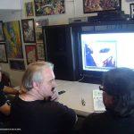 Aquí estamos con Jonathan Reed, contacto extraterrestre planeando un proyecto sobre su experiencia.