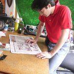 Realizamos tiras deportivas de la ONEFA, para el periódico ESTO.