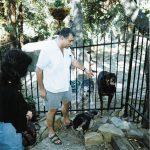 Cuando Sergio Aragonés nos invitó a su hermosa casa en Ojai, CA en 1997. Aquí nos presentó al Rufferto real.